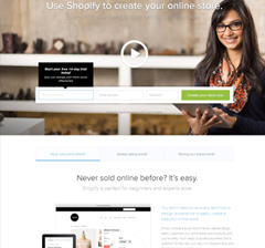 shopify website screenshot IXWebHosting